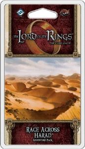 Lord of the Rings : The Card Game – Race Across Harad Adventure Pack